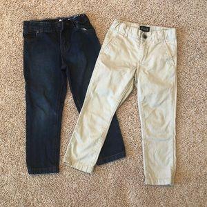 Carter's jeans & khaki pants, boys bundle 5 5T